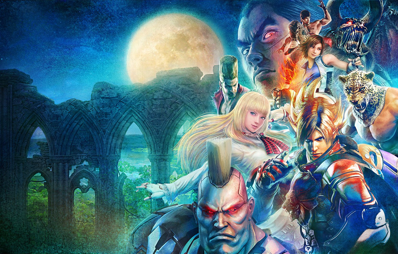 Wallpaper Jack Kazuya Mishima Namco King Tekken Revolution Marshall Law Lars Alexandersson Asuka Kazama Paul Phoenix Lili De Rochefort Images For Desktop Section Igry Download