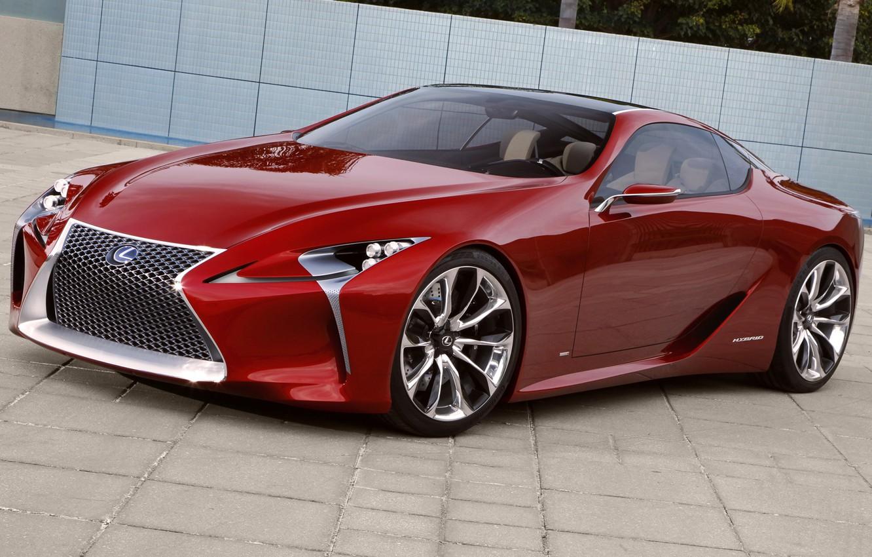 Photo wallpaper Concept, red, Lexus, the concept, Lexus, LF-LC