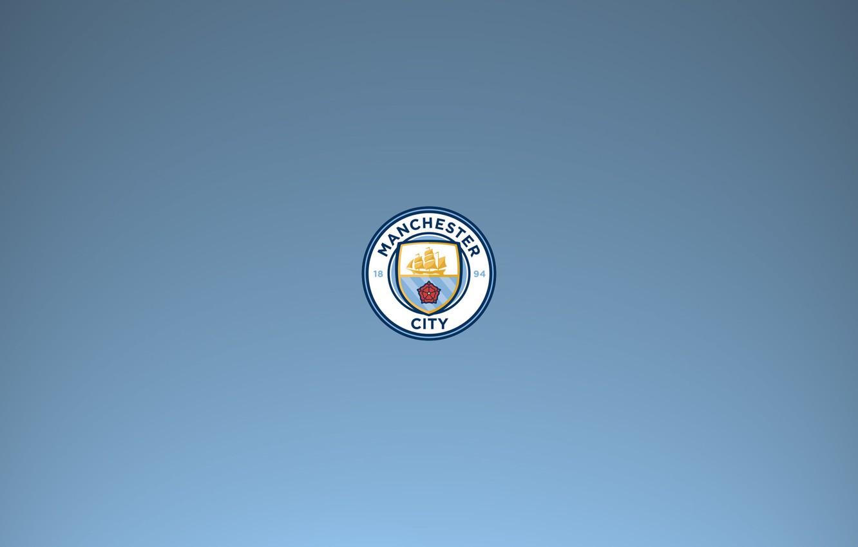 Photo wallpaper Logo, Premier League, Soccer, Manchester City