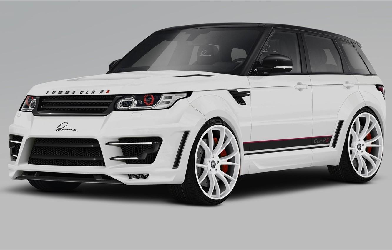 Photo wallpaper tuning, Range Rover Sport, tuning, the front, Land Rover, LUMMA Design, Range Rover Sport