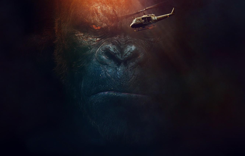 Photo wallpaper The film, Movie, Kong: Skull Island, King Kong: Skull Island