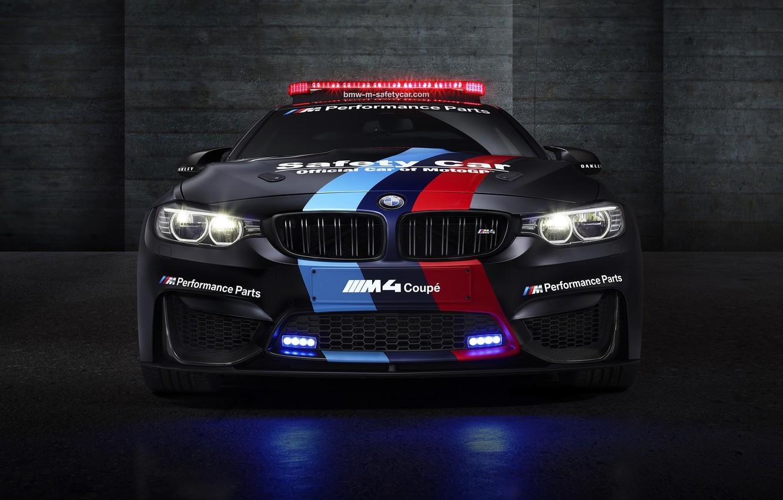 Photo wallpaper BMW, BMW, MotoGP, Coupe, Safety Car, F82, 2015