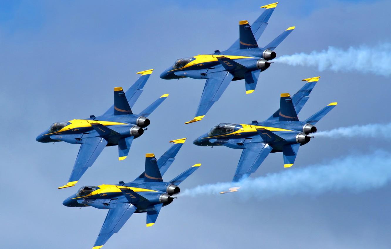 Photo wallpaper aviation, aircraft, Blue Angels