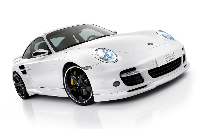 Photo wallpaper White, Porsche, Porsche, Car