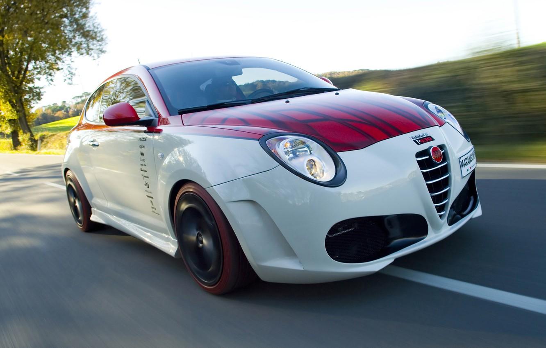 Photo wallpaper auto, speed, Alfa Romeo, alpha Romeo