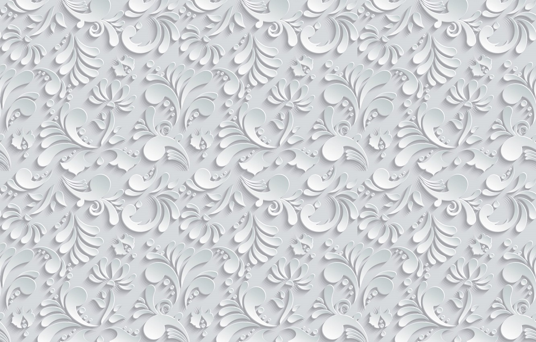 Photo wallpaper leaves, pattern, the volume