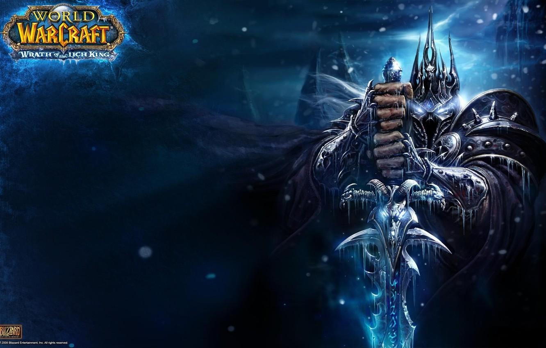 Photo wallpaper WoW, World of Warcraft, Lich King, Lich King