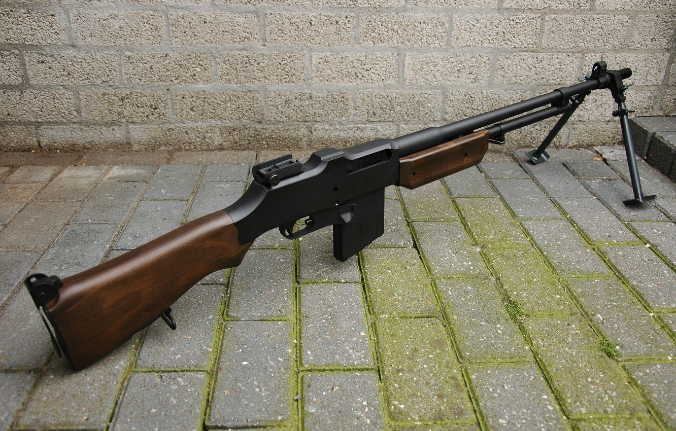 Photo wallpaper weapons, rifle, automatic, Browning M1918