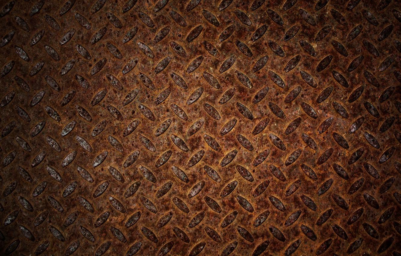 Photo wallpaper rust, metal, iron