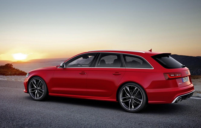 Photo wallpaper Audi, Audi, universal, Wagon, V-8, RS 6 Avant
