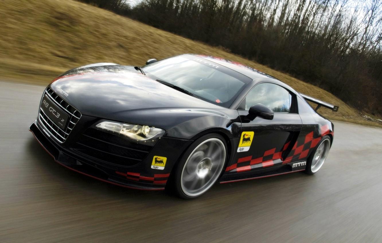 Photo wallpaper road, speed, MTM Audi R8 GT3