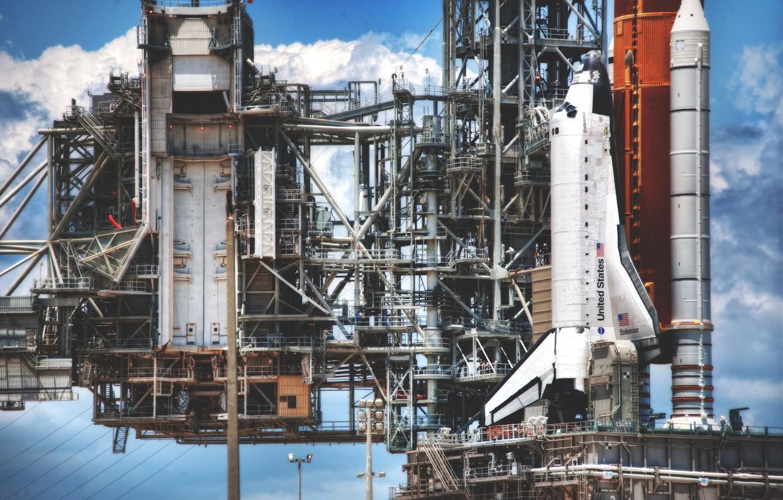 Photo wallpaper rocket, America, Shuttle, america, nasa, shuttle, states, united