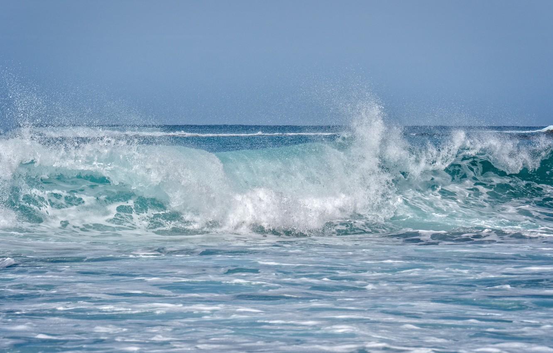 Photo wallpaper the ocean, wave, Hawaii, Hawaii, Maui, Maui, Andalso E Bay