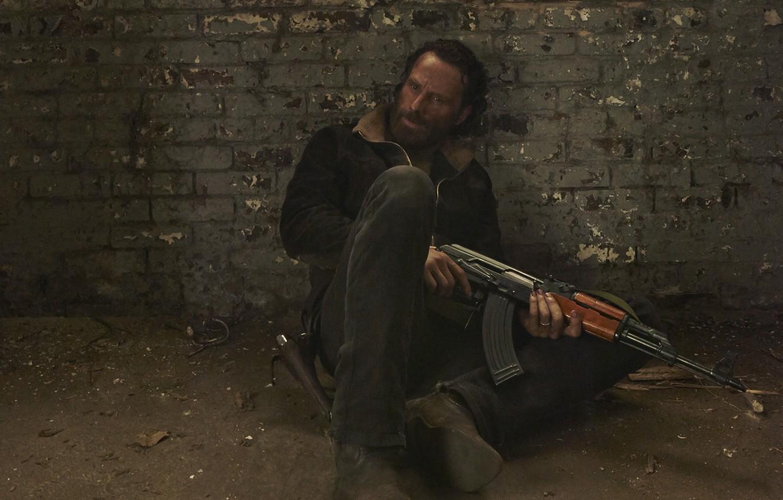Wallpaper The Walking Dead Rick Grimes The Walking Dead Andrew