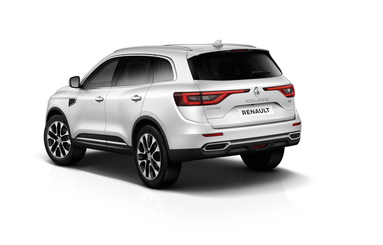 Photo wallpaper background, Renault, Reno, crossover, Koleos, Koleos