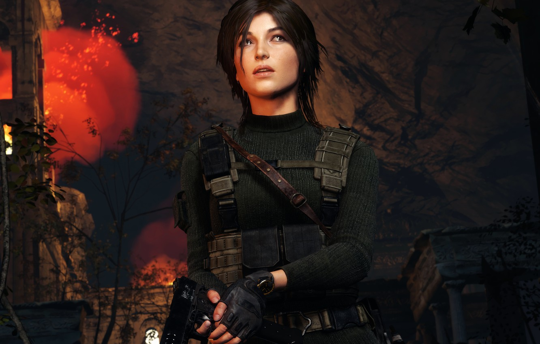 Photo wallpaper Tomb Raider, Lara, Portraits, Rise