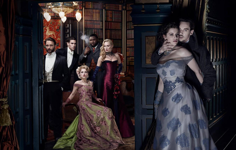 Photo wallpaper the series, Dracula, Dracula, Jonathan Rhys Meyers, Jonathan Rhys Meyers, Jessica De Gau