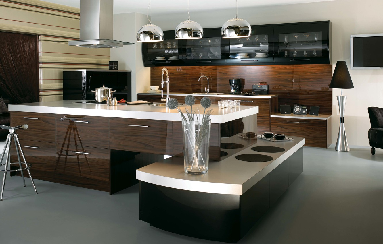 Photo wallpaper design, house, style, room, Villa, interior, kitchen