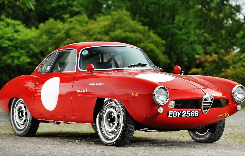 Photo wallpaper Alfa, Corsa, Romeo, Speciale, Sprint, Giulia, Alfa Red, Old Car, Alfa Rosso, Oldie, Alfa Romeo …