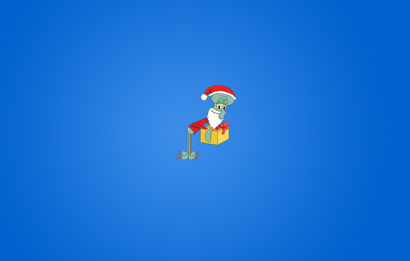 Wallpaper Minimalism New Year The Spongebob Squidward Images For