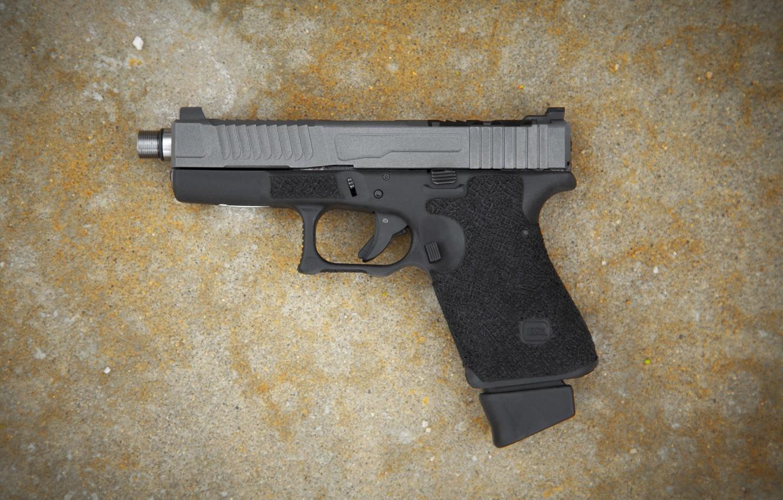 Photo wallpaper weapons, Austria, self-loading pistol, Glock 23, Mark 1