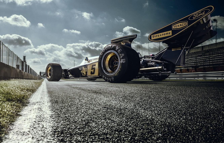 Photo wallpaper Lotus, Lotus, Car, Race, The car, Track, Track, 72D