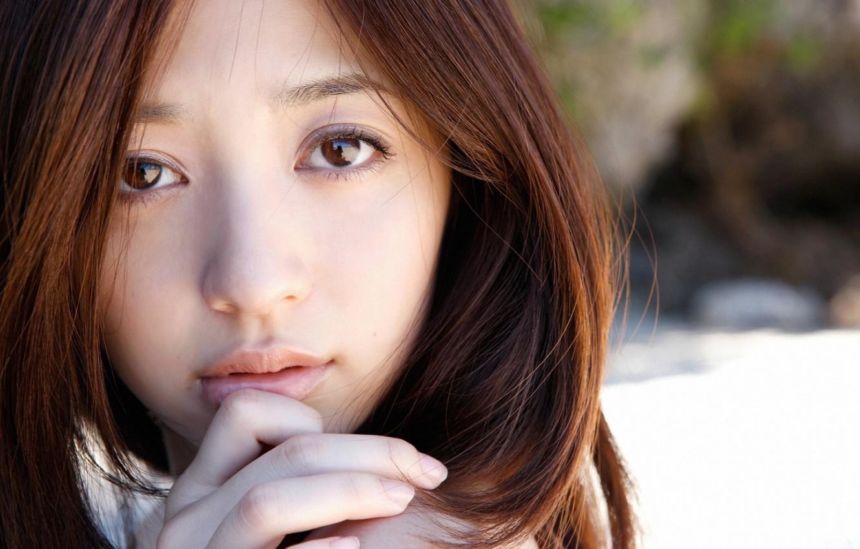 Wallpaper Girl, Nature, Asian, Model, Beauty, Face, Cute