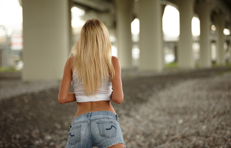 Photo wallpaper model, hair, shorts, figure, Rita