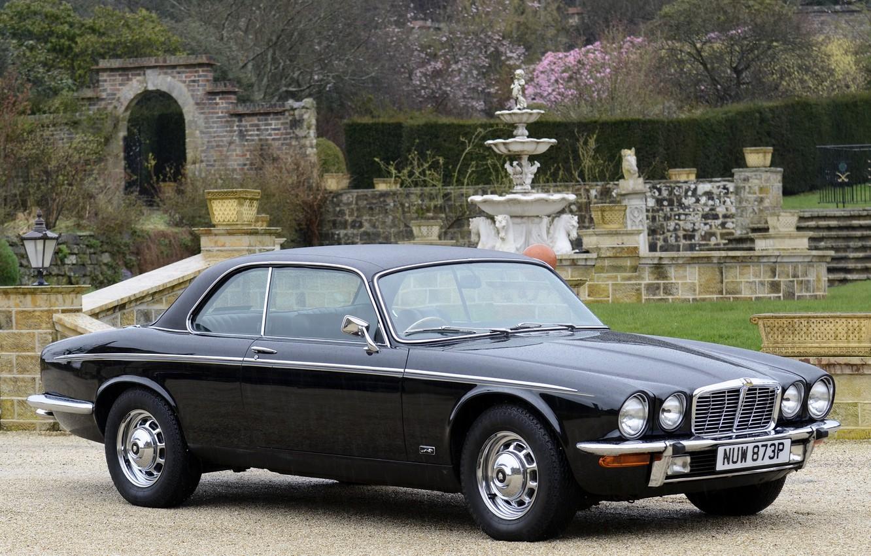 Photo wallpaper auto, style, retro, Jaguar, Jaguar, retro, 1975, XJ6C, series II