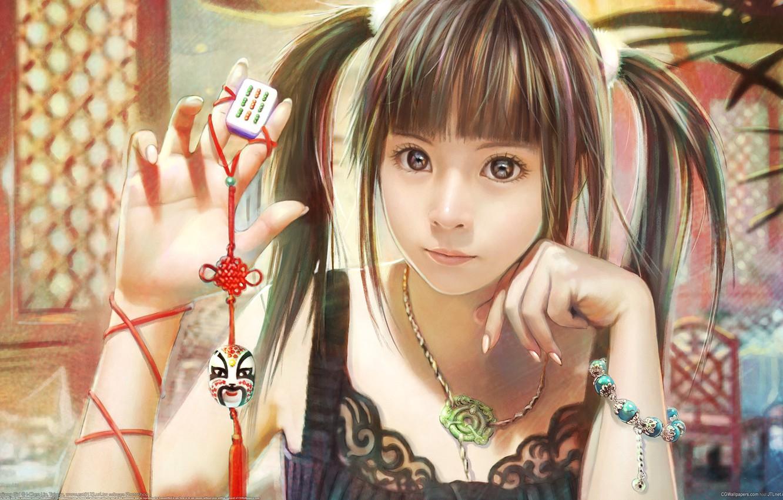 Photo wallpaper the game, girl, i-chen lin