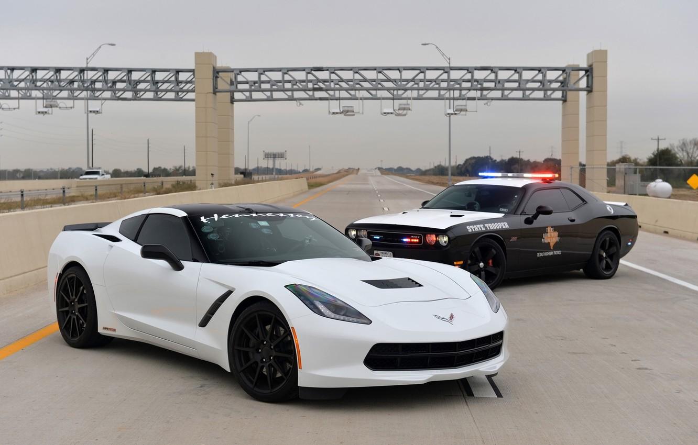 Photo wallpaper Corvette, Chevrolet, Tuning, Hennessey, Stingray, Chevrolet Tuning, Corvette Tuning, Hennessey Chevrolet Corvette Stingray HPE600