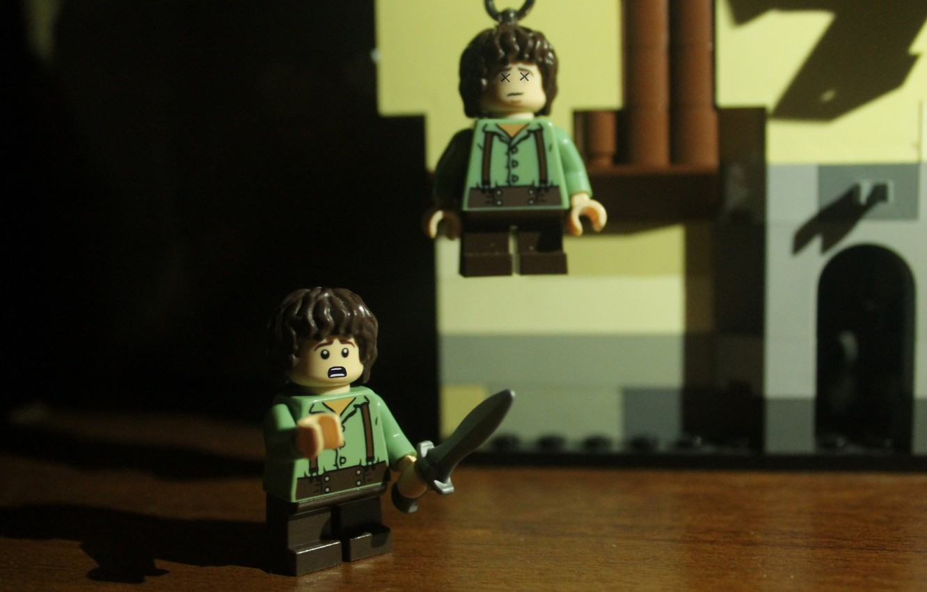 Wallpaper Toy Lego The Lord Of The Rings Frodo Lego Frodo The