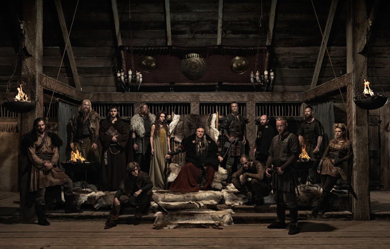 Wallpaper Katheryn Winnick, Travis Fimmel, vikings, Clive