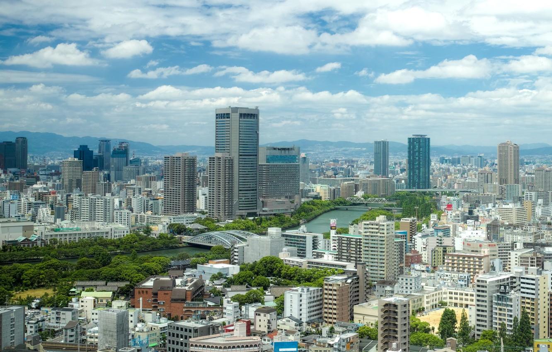 Photo wallpaper city, wallpaper, building