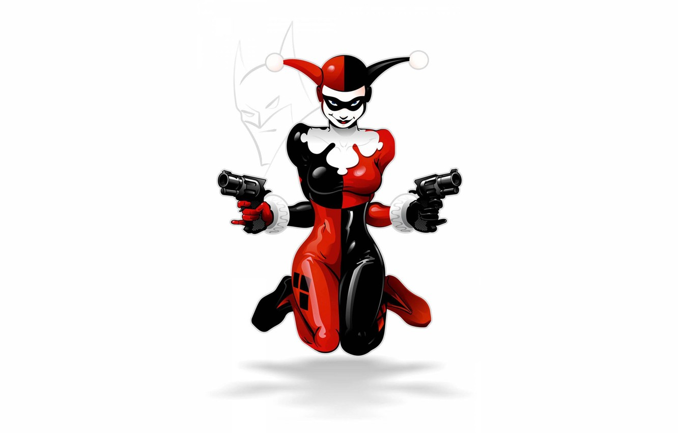 Wallpaper Girl Art Harley Quinn Dc Comics Harley Quinn