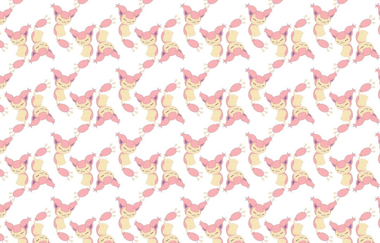Photo wallpaper background, texture, anime, art, baby, pokemon