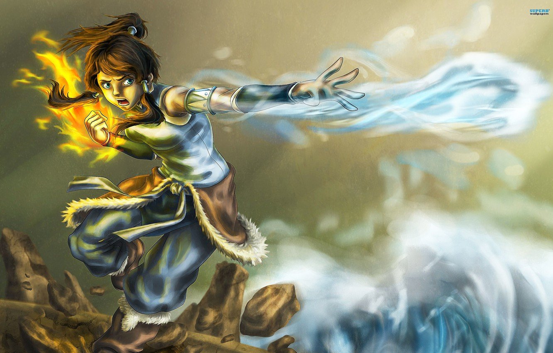 Wallpaper Earth Blow Magic Art Avatar The Legend Of Korr