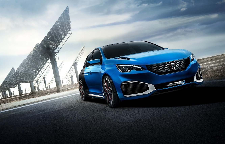 Photo wallpaper Concept, the concept, Peugeot, Peugeot, 2015, 308 R, HYbrid
