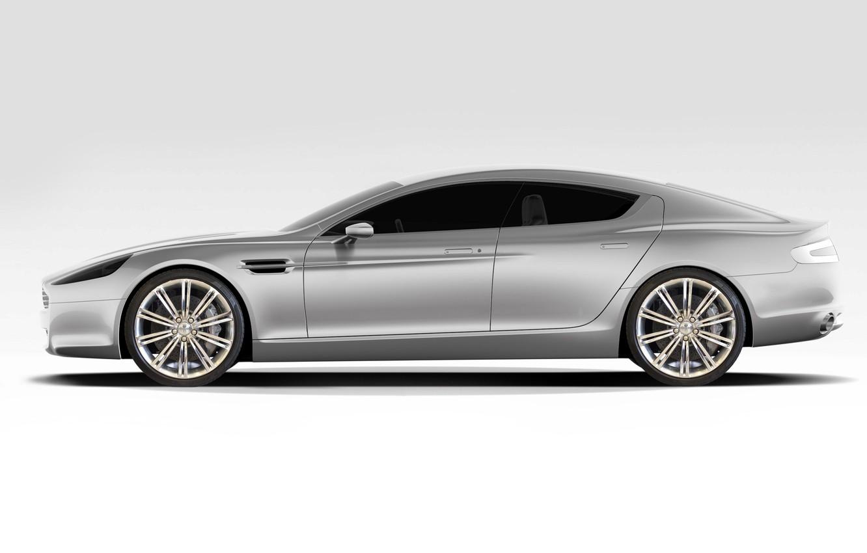 Wallpaper Aston Martin Rapide White Background Profile The Super Sedan Images For Desktop Section Aston Martin Download