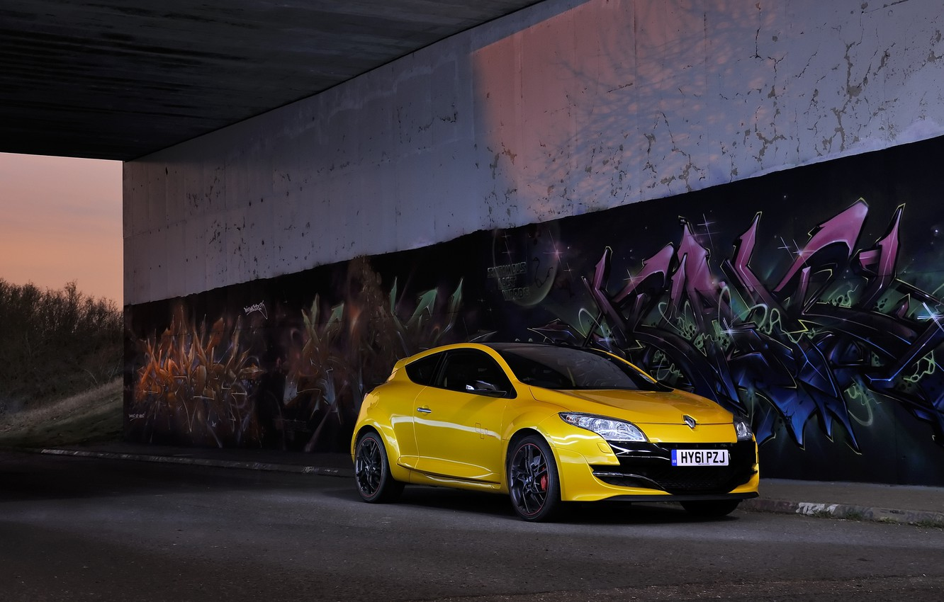 Photo wallpaper Trophy, Mégane, Renaultsport, 265