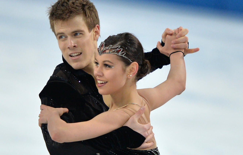 Photo wallpaper smile, movement, dance, figure skating, Russia, Sochi 2014, Nikita Katsalapov, The XXII Winter Olympic Games, …