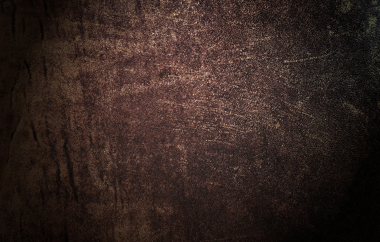 Photo wallpaper cracked, texture, leather, brown, leather, dark