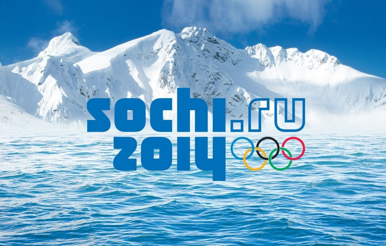 Photo wallpaper Olympics, Olympic games, Sochi 2014