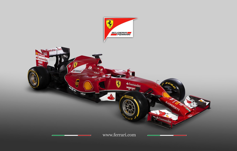 Photo wallpaper Ferrari, Formula1, 2014, F14 T