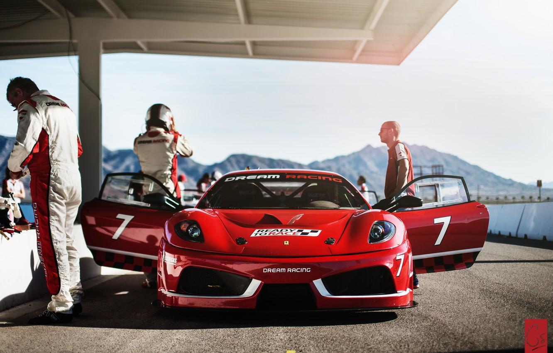 Photo wallpaper F430, Ferrari, Ferrari, Challage, Dream Racing
