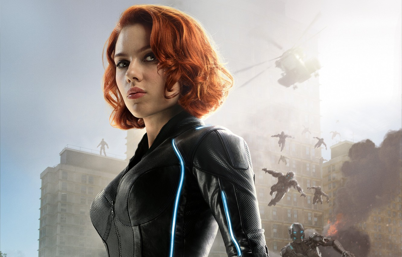 Wallpaper The Film Scarlett Johansson Black Widow