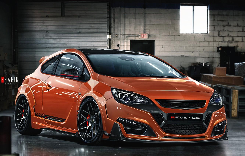 Photo wallpaper Opel, Astra, Opel, Astra, VXR, 2015, C Revenge