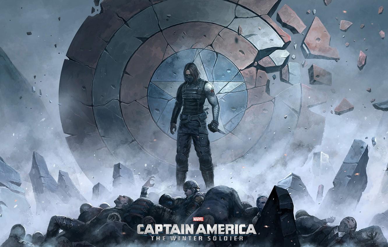 Wallpaper Captain America The Winter Soldier Winter Soldier