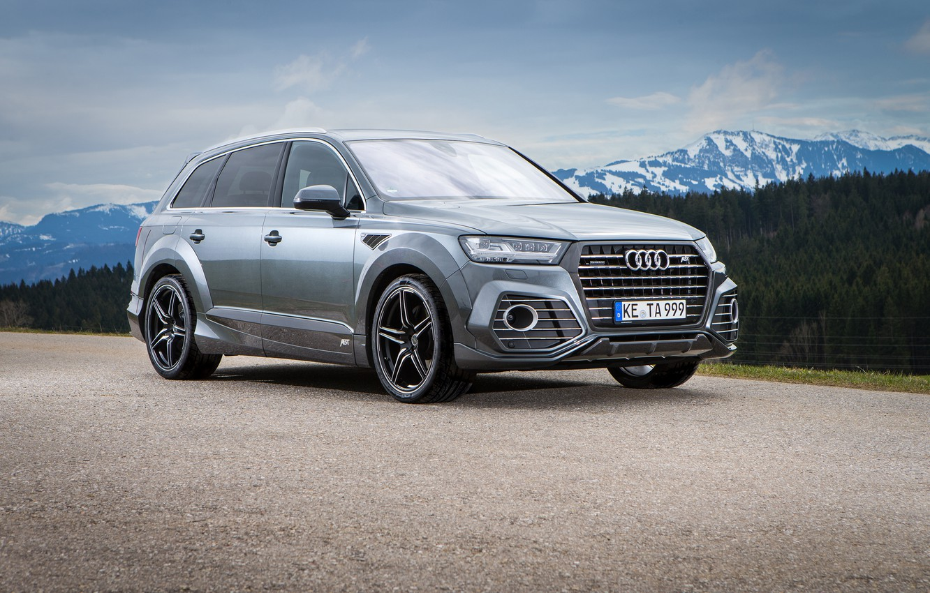 Photo wallpaper Audi, Audi, crossover, ABBOT