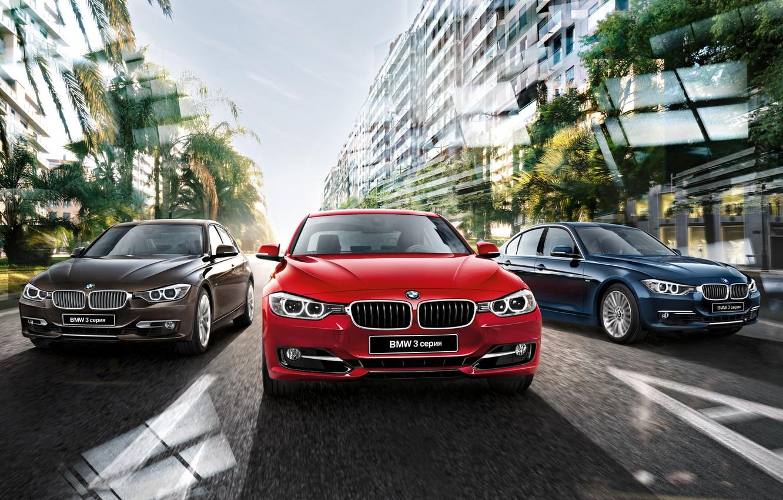 Photo wallpaper BMW, BMW, sedan, 3 series, F30, Sedan, 2015